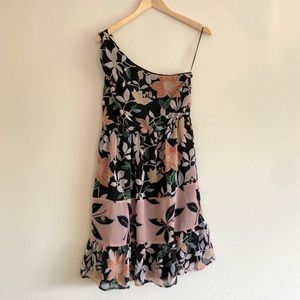 NWT Loft One Shoulder Dress
